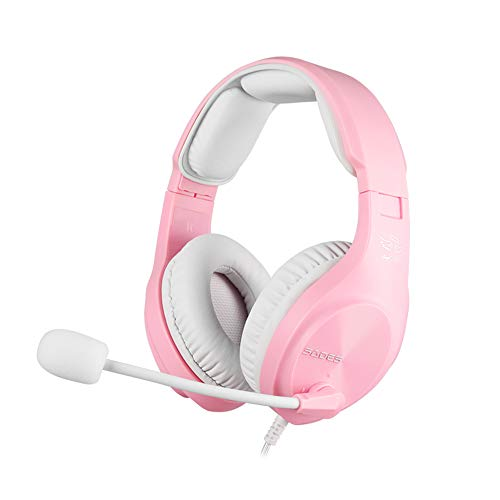 [Angel Edition] SADES A2 Gaming-Headset mit...