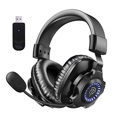 REDSTORM 2,4G Wireless PC Headset, kabelloses...