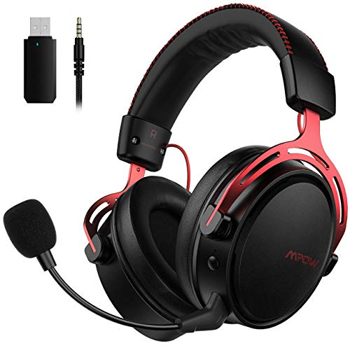 Mpow Air 2.4G Wireless-Gaming-Headset,...