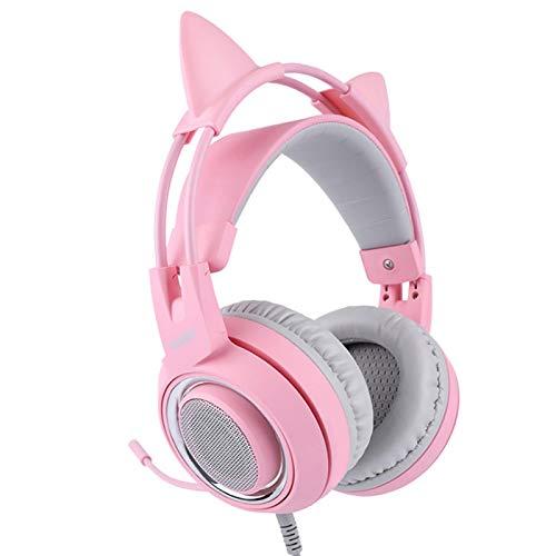 DASNTERED Gaming-Headset, Abnehmbarer...